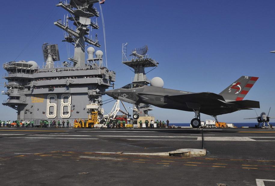 F-35C /US NAVY / Kelly M. Agee /PAP/EPA
