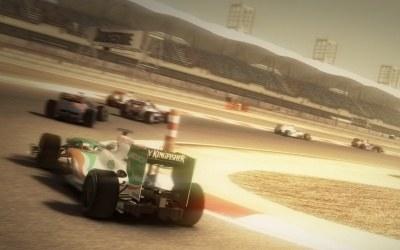 F1 2010 - motyw z gry /Informacja prasowa