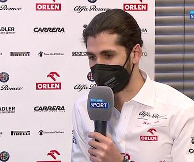 F1. Antonio Giovinazzi: Możliwości bolidu dopiero poznam (POLSAT SPORT). Wideo