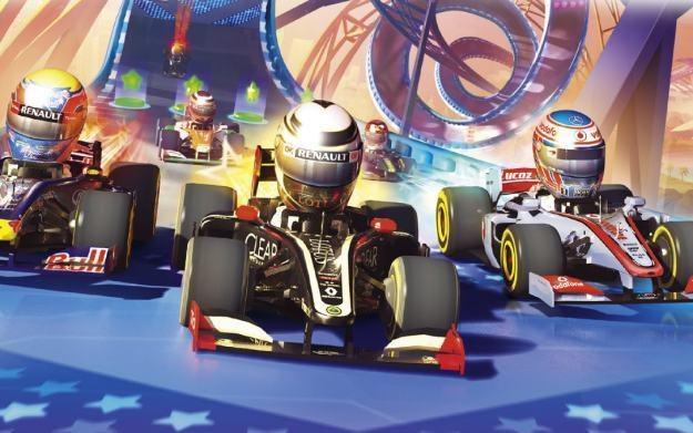 F1 Race Stars - motyw graficzny /