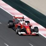 F1: Raikkonen najszybszy podczas testów