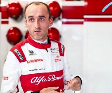 F1. Robert Kubica: Wyczucie nie było dziś najlepsze (POLSAT SPORT). Wideo