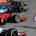 F1. Sebastian Vettel posprzątał tor po wyścigu