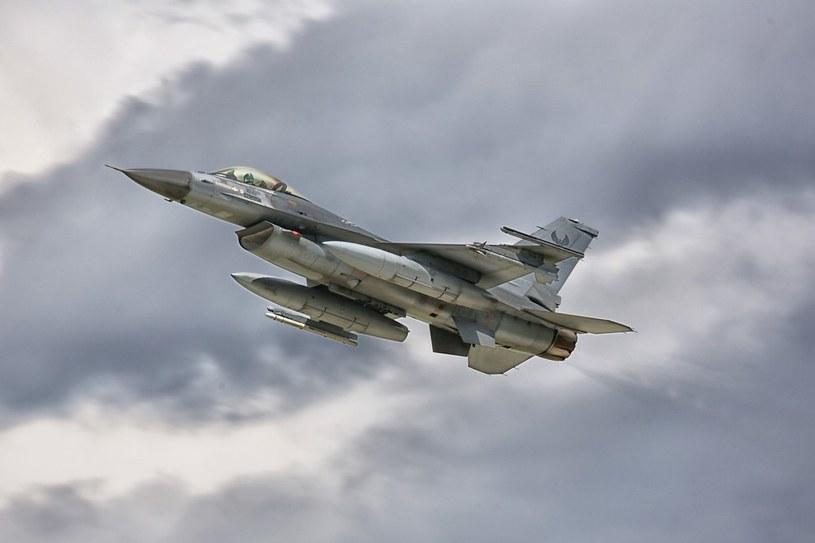 F16/Zdjęcie ilustracyjne /Michal Adamowski/REPORTER /East News