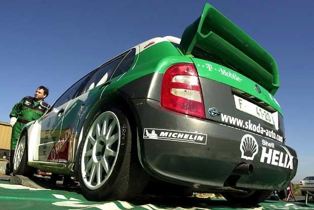 Fabia WRC już gotowa / kliknij /INTERIA.PL