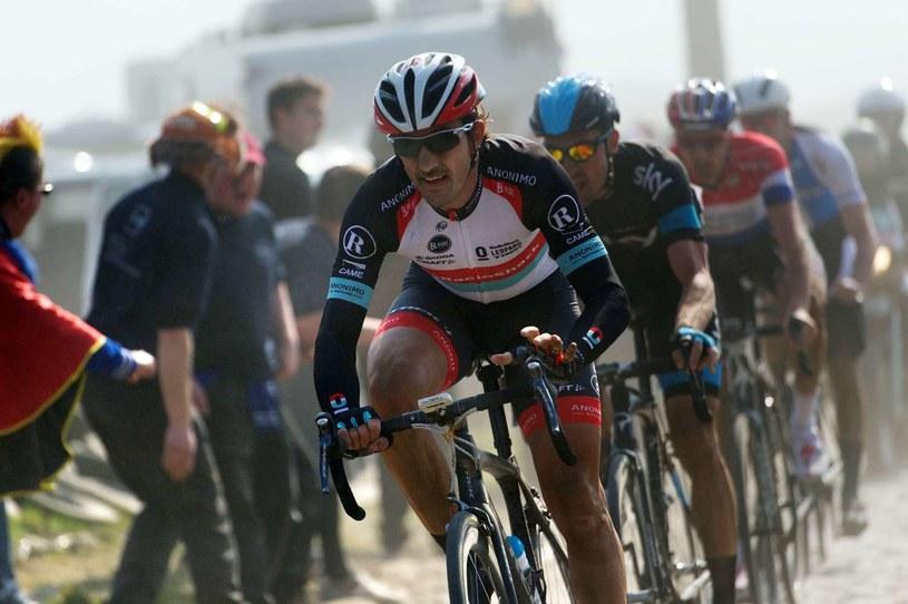 Fabian Cancellara jest jednym z faworytów klasyku Paryż-Roubaix /AFP