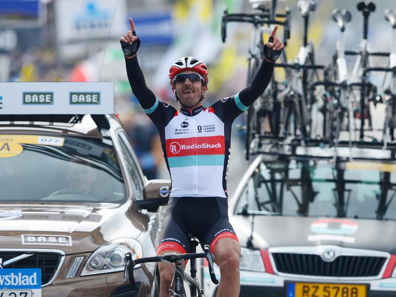 Fabian Cancellara, kolarz RadioShack /AFP