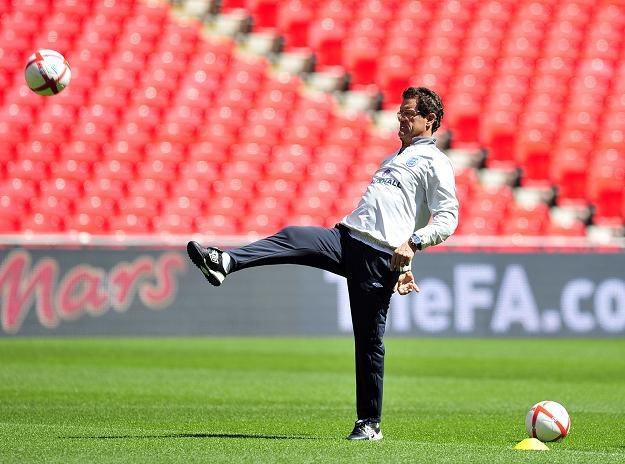 Fabio Capello, trener piłkarskiej reprezentacji Anglii /AFP