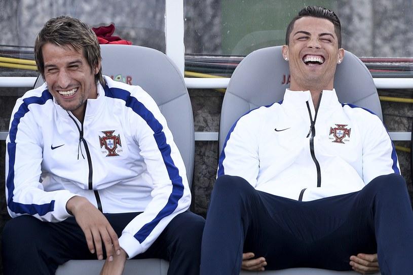 Fabio Coentrao i Cristiano Ronaldo /AFP