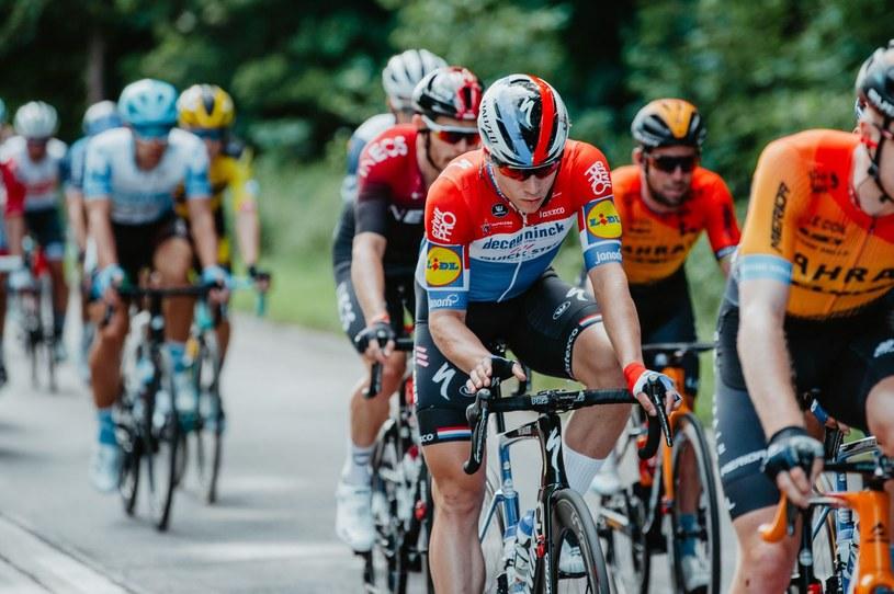 Fabio Jakobsen podczas Tour de Pologne 2020 /AFP/Forum SZYMON GRUCHALSKI /AFP