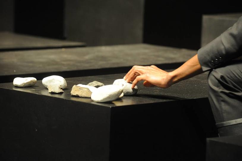 """Fabrizio Cassol, Alain Platel, les ballets C de la B (Belgia) """"Requiem pour L."""" /Chris Van der Burght /materiały prasowe"""