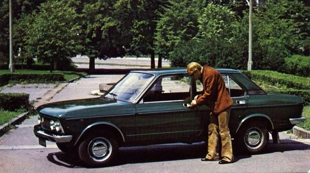 Fabryczne zdjęcie reklamowe Polski Fiat 132p /Archiwum Tomasza Szczerbickiego