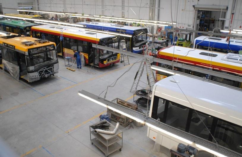 Fabryka autobusów Solaris /KNUTH BORRNY  /East News