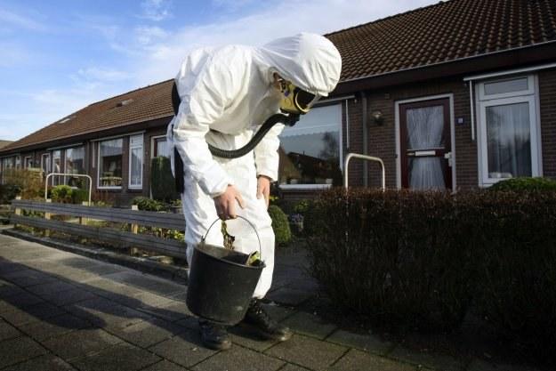 Fabryka azbestu, która miała być dobrodziejstwem dla regionu, okazała się przekleństwem /AFP