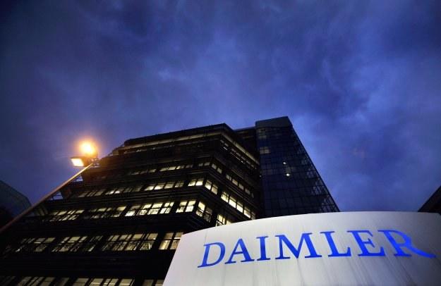 Fabryka Daimlera w Stuttgarcie-Untertuerkheim /AFP