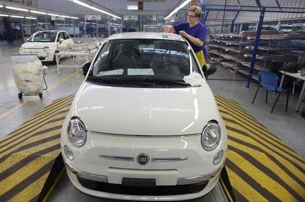 Fabryka Fiata w Tychach /AFP
