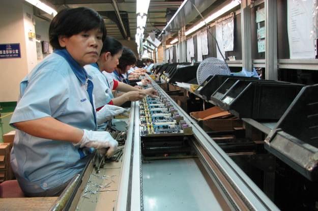 Fabryka Gigabyte w  Nan-Ping na Tajwanie - większość dużych fabryk już dawno przeniosła  się do Chin /INTERIA.PL