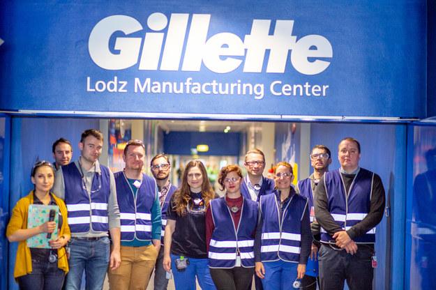 Fabryka Gillette w Łodzi / Źródło: P&G /&nbsp