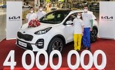 Fabryka Kii wyprodukowała czteromilionowy samochód