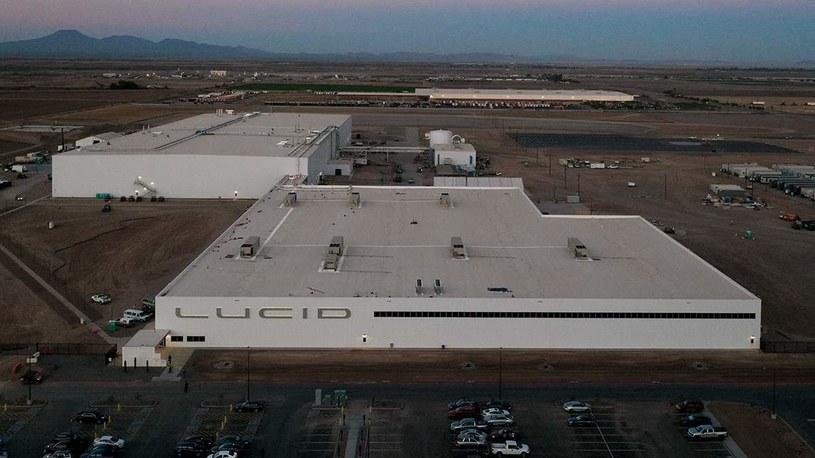 Fabryka Lucid Motors w Ariozonie /