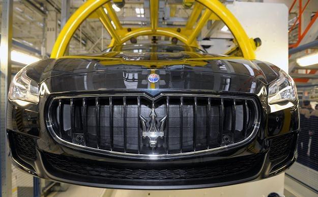 Fabryka Maserati musiała wstrzymać produkcję /AFP