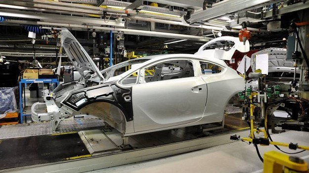 Fabryka Opla w Gliwicach. Będzie tu wytwarzana Astra piątej generacji. /Opel