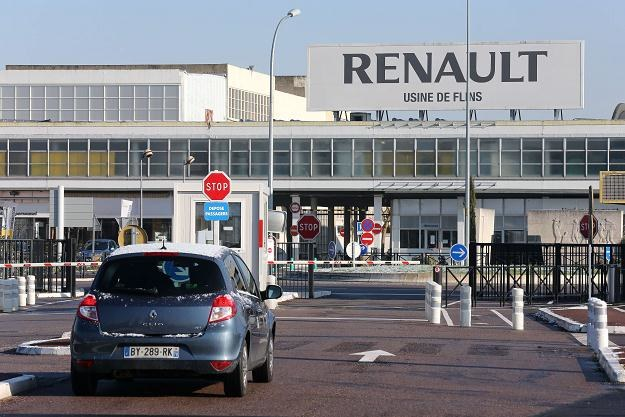 Fabryka Renault we Flins /AFP
