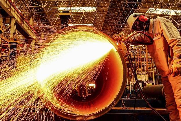 Fabryka rur w Qingdao, prowincja Shandong /AFP