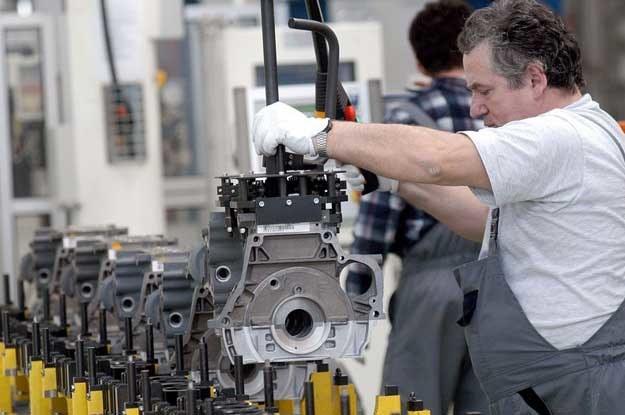 Fabryka silników Fiata w Bielsku. Fot. Adam Bruno /Reporter