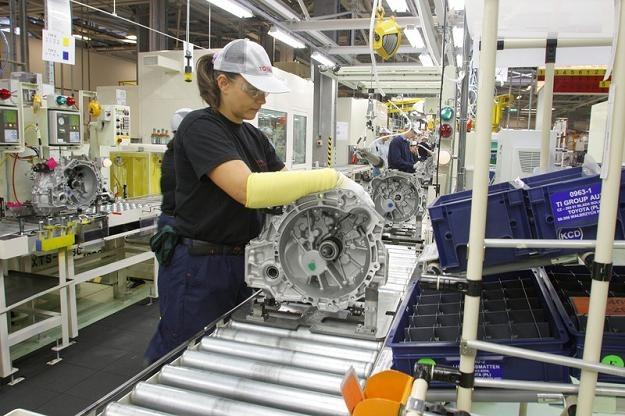 Fabryka Toyoty w Wałbrzychu. Fot. Edyta Strzelec /Reporter