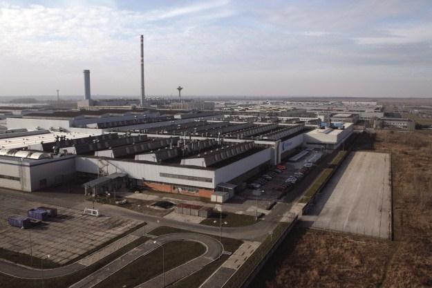 Fabryka Volkswagena w Bratysławie /