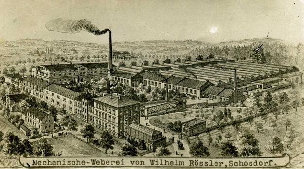 Fabryka w Uboczu na początku XX w. Zb. Zbigniewa Madurowicza /Odkrywca