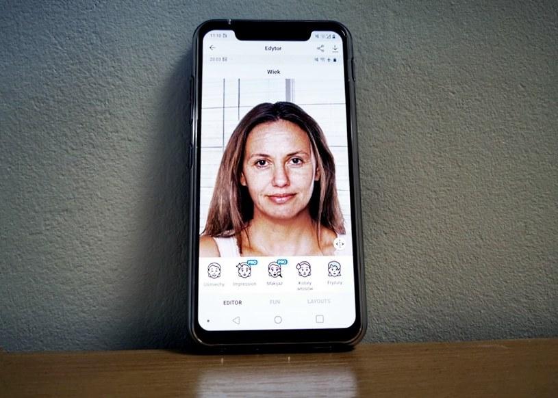 FaceApp - aplikacja Rosjan wykorzystuje nasze zdjęcia w niepowołany sposób? /INTERIA.PL