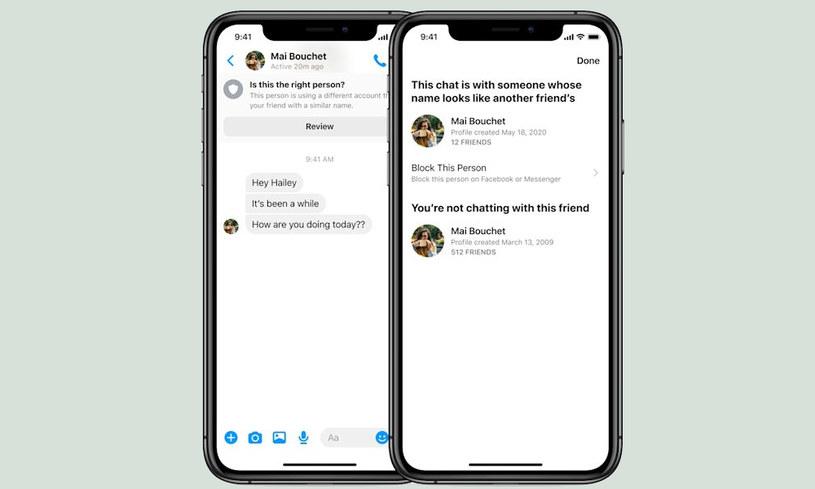 Facebook Messenger /materiały prasowe