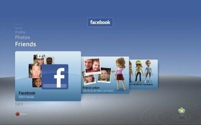 Facebook na Xbox Live - zrzut ekranu /gram.pl
