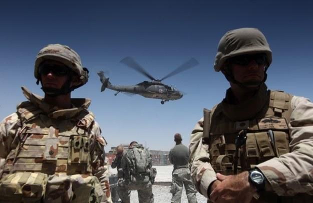 Facebook pomaga natowskim wojskom w Afganistanie w walce z rebeliantami /AFP