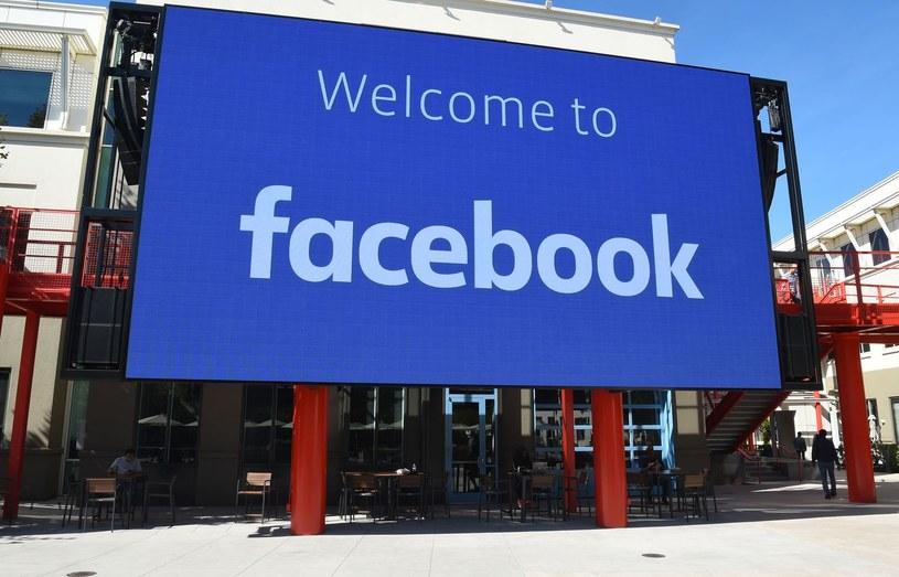 Facebook, siedziba w Menlo Park, Kalifornia /AFP