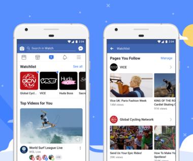 Facebook Watch, czyli autorska kopia YouTube'a