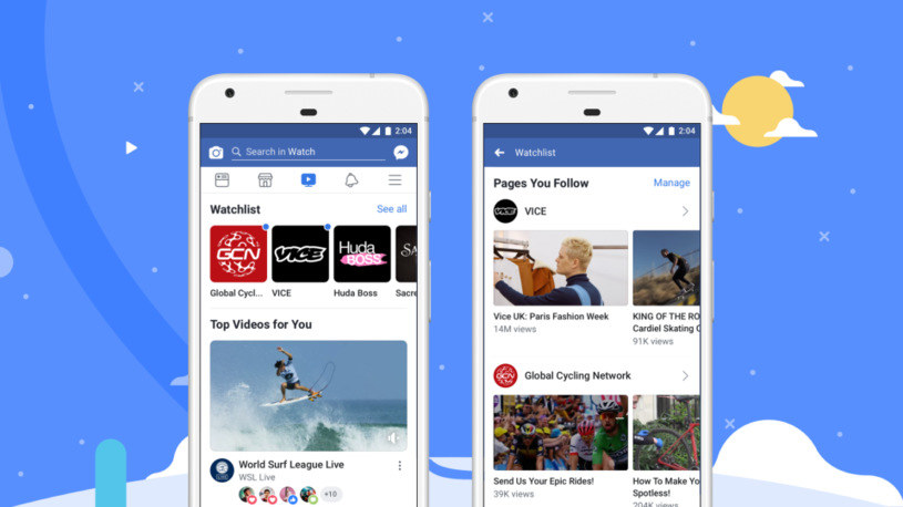 Facebook Watch się rozrasta /materiały prasowe