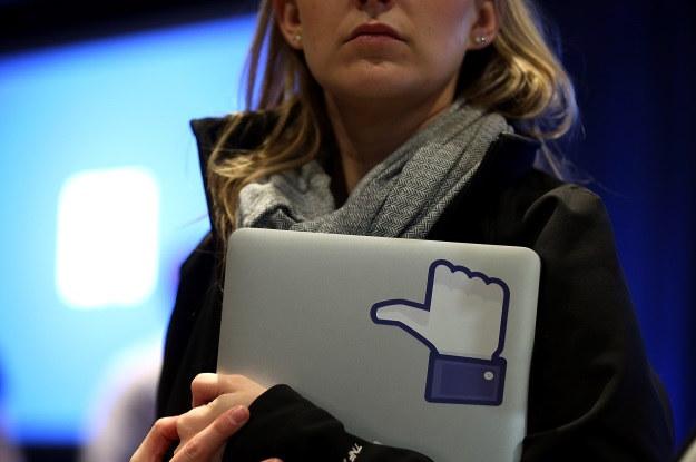Facebook zostanie zakazany w Rosji? /AFP