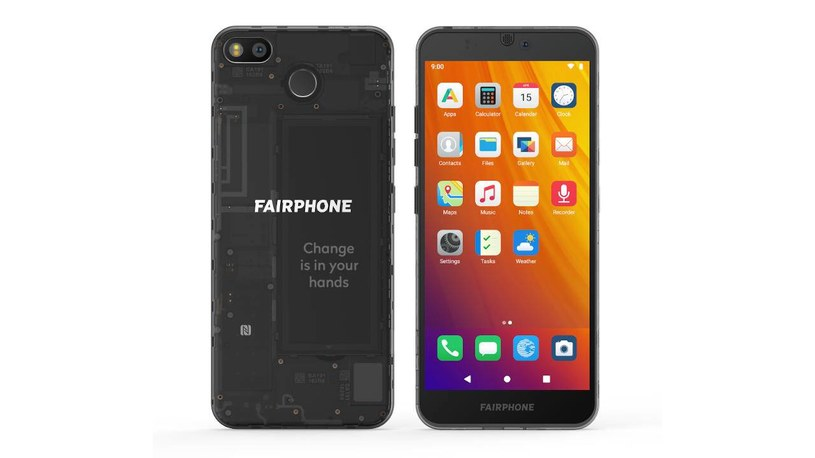 Fairphone 3 będzie działał także bez usług Google /materiały prasowe