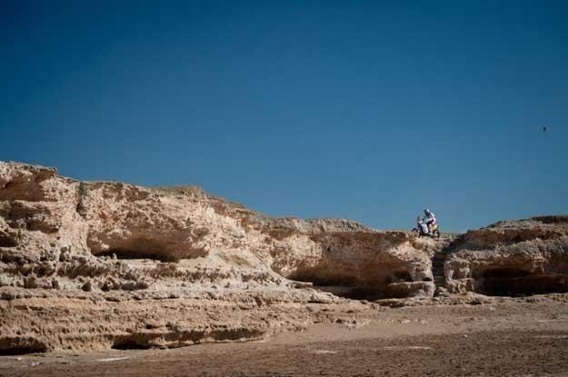 """Fajnie jest pościgać się """"w pięknych okolicznościach przyrody"""" /AFP"""
