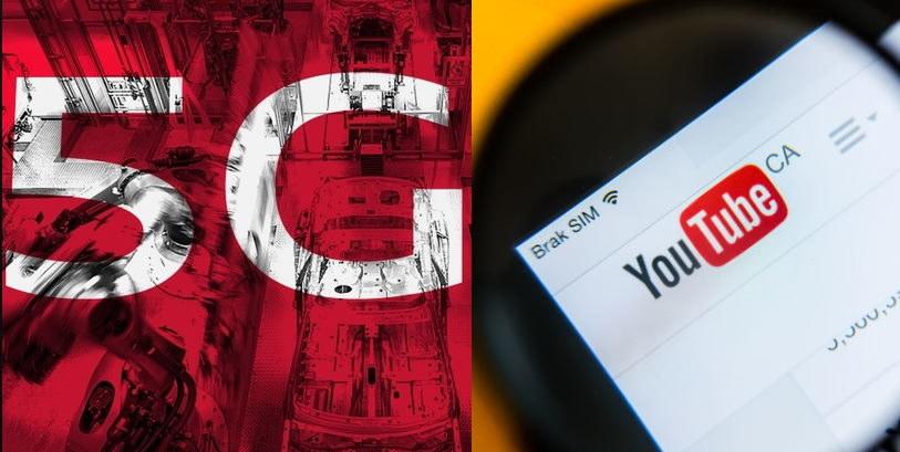 Fake newsy i kłamstwa na temat 5G - YouTube będzie z tym walczył /AFP