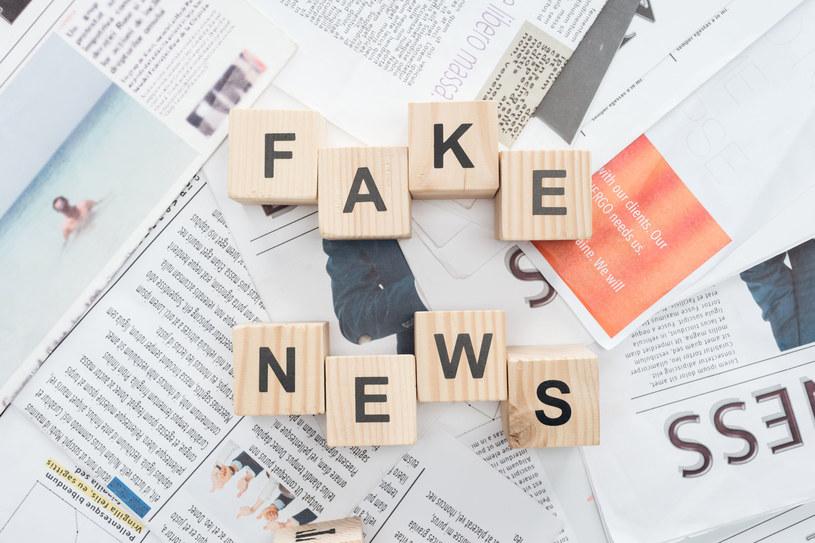 Fake newsy stały się plagą, z którą poradzić sobie muszą współczesne społeczeństwa informacyjne. /123RF/PICSEL