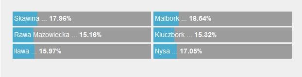 Fakty z Twojego Miasta: Wyniki głosowania /RMF24
