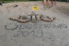 Fakty znad Wody - Boszkowo, Jezioro Dominickie - Zamki z piasku