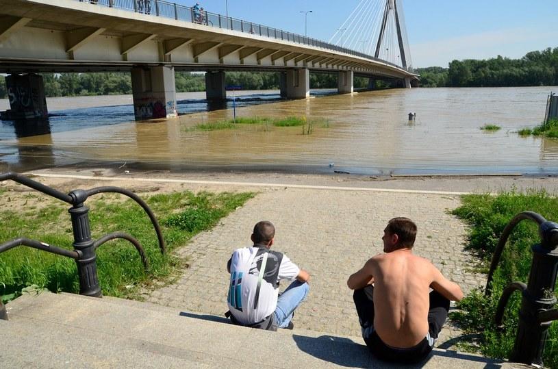 Fala kulminacyjna przechodzącą przez Warszawę /Mariusz Gaczyński /East News