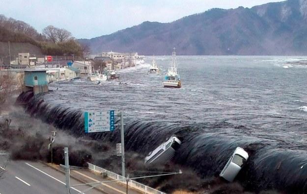 Fala tsunami /AFP