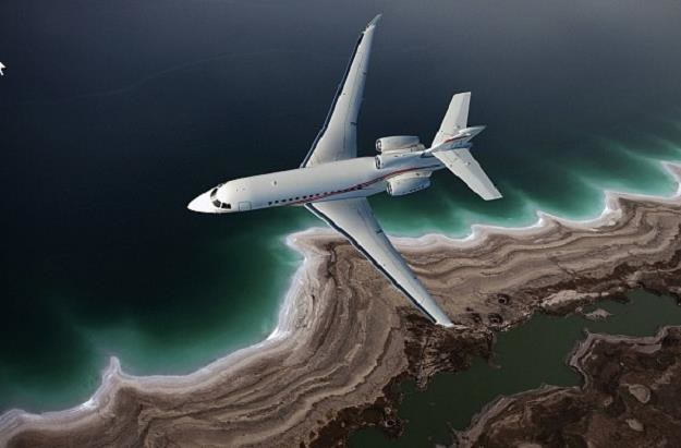 Falcon 7X firmy Dassault Aviation /Informacja prasowa