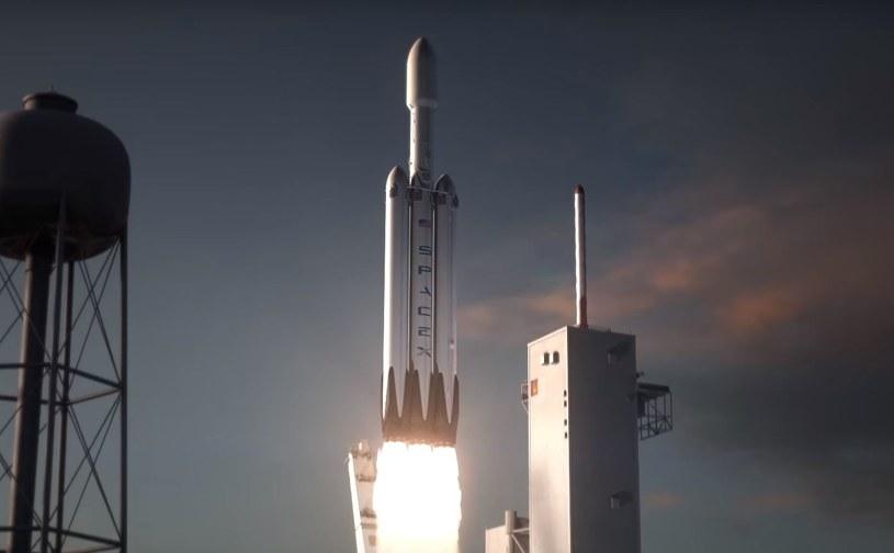 Falcon Heavy to pierwszy krok w stronę kolonizacji Marsa /materiały prasowe